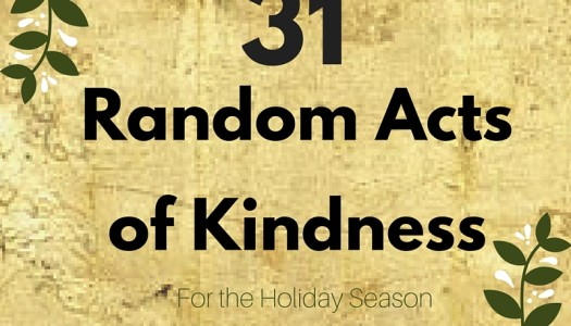 31 Random Acts of Kindness