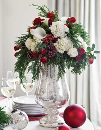 Flower Arrangements for Your Holiday Party