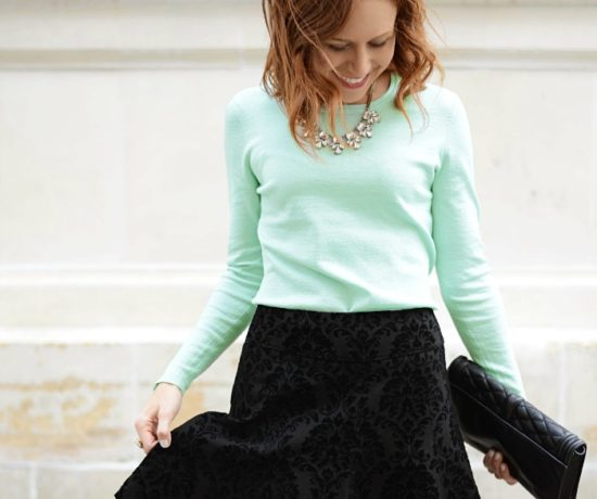 How to Style your Party Skirt