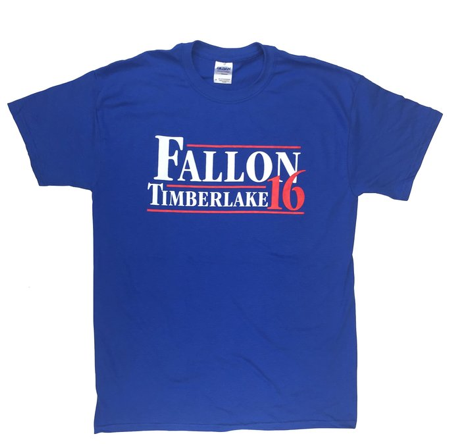 Fallon Timberlake for President tee