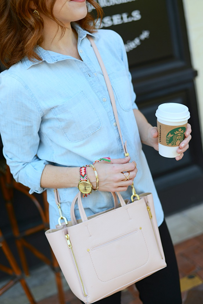 Friendship bracelet watch! // The Average Girl's Guide