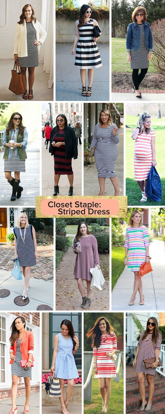 how to style a striped dress, major inspiration // the modern savvy