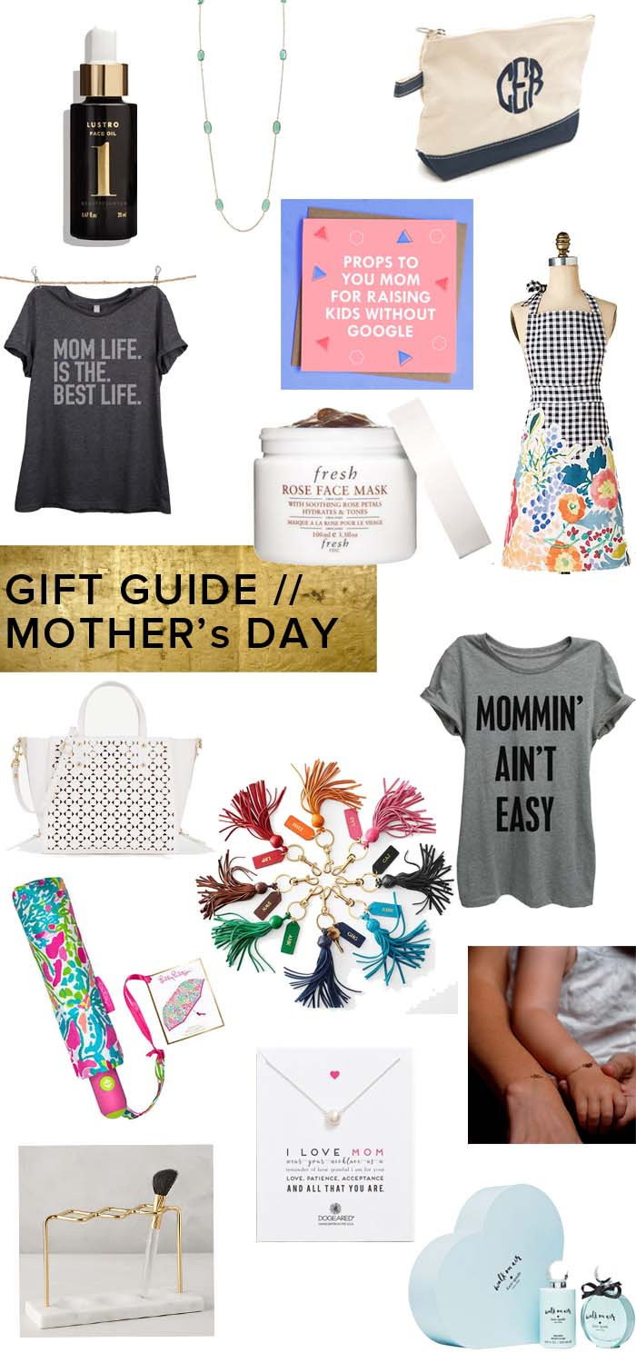 Affordable, sentimental, fun gifts for Mother's Day