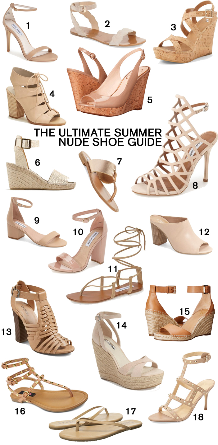 Best Nude Sandals for Summer featured by popular Florida style blogger, The Modern Savvy