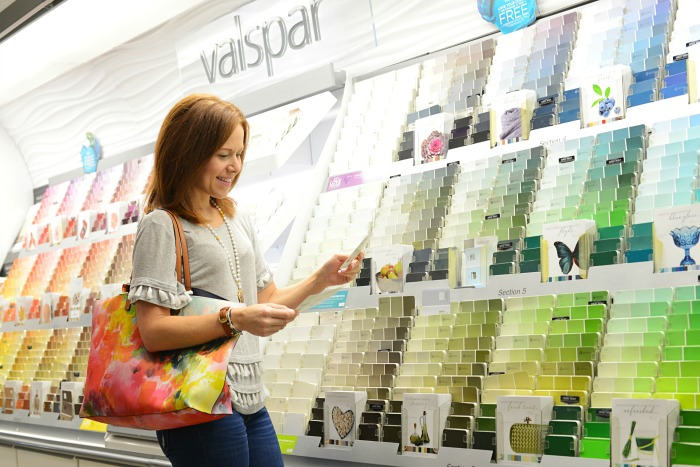 Valspar Zero VOC paints