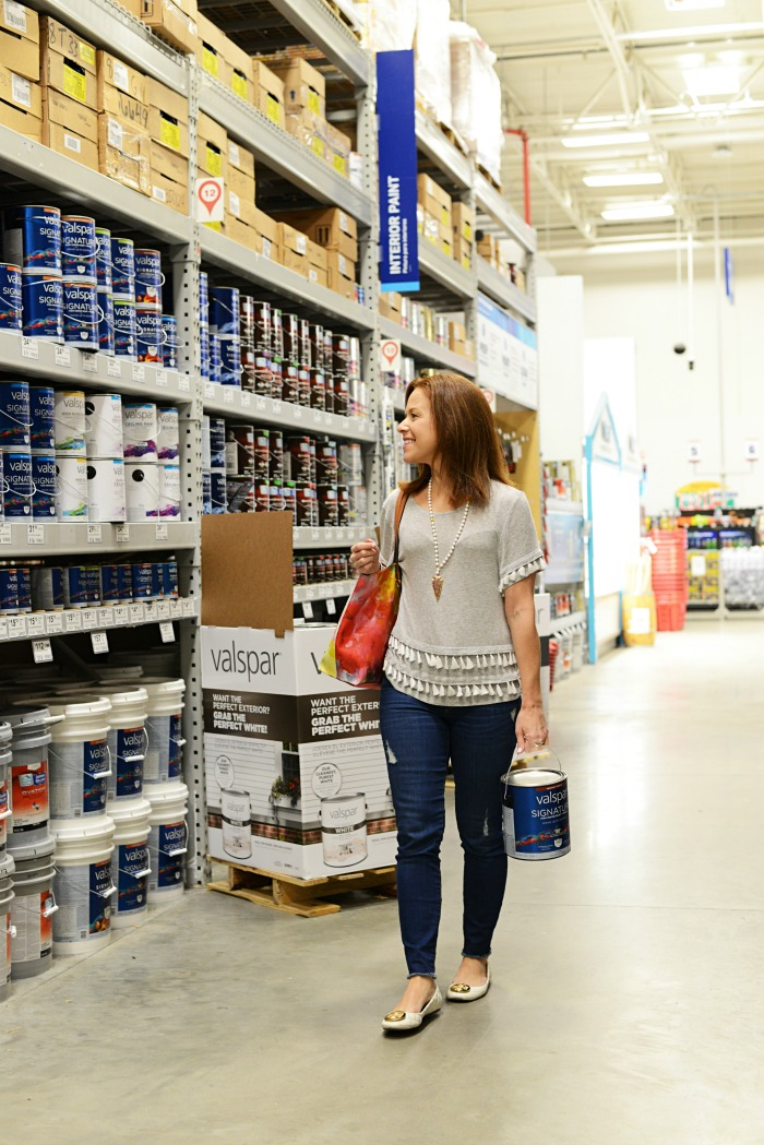 Valspar Zero VOC paints at Lowe's