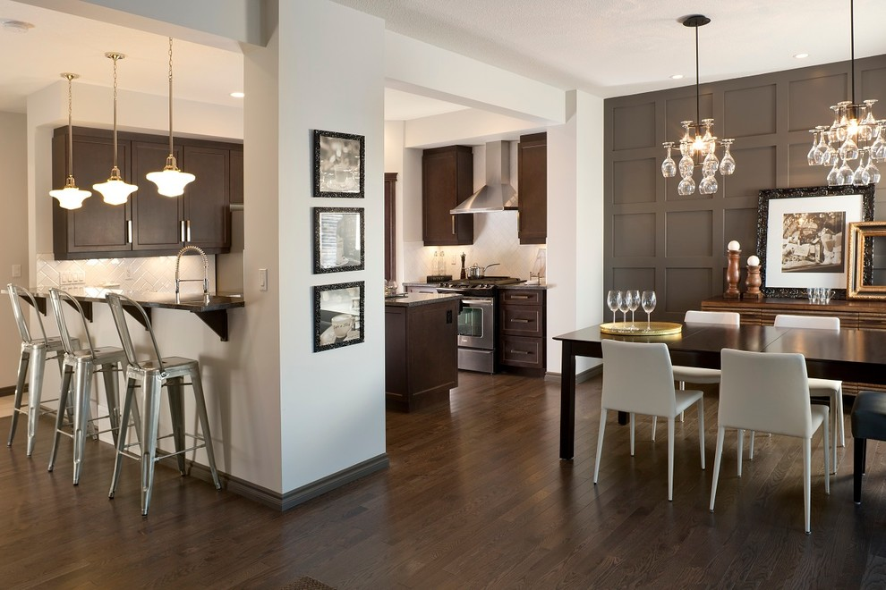 moulding ideas for walls inarace - Kitchen Paneling Ideas