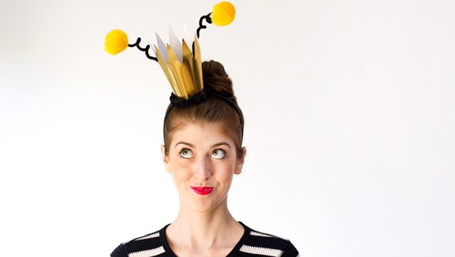 Queen Bee DIY, plus six more super easy Halloween DIY costumes