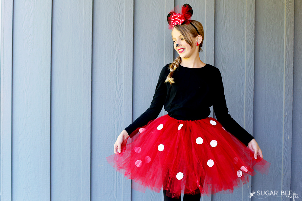 Minnie Mouse Halloween Costume DIY, plus six more super easy DIY ideas