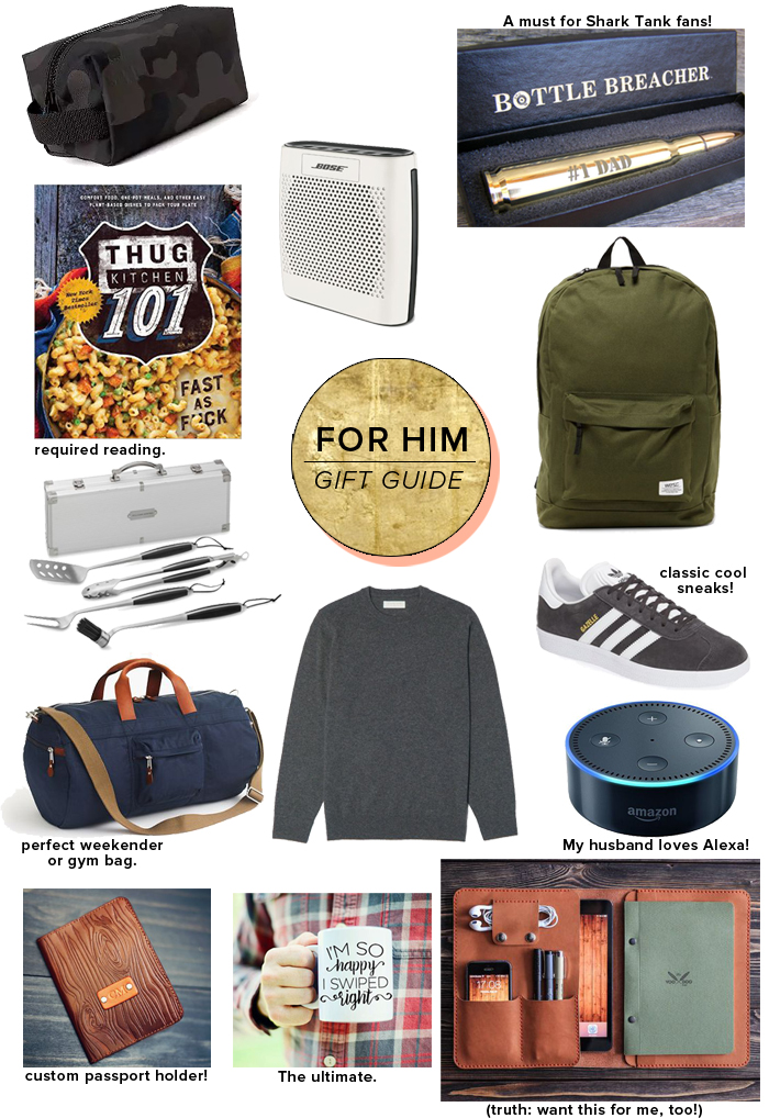 aa0f449cb411 Gift Guide  For the Guys