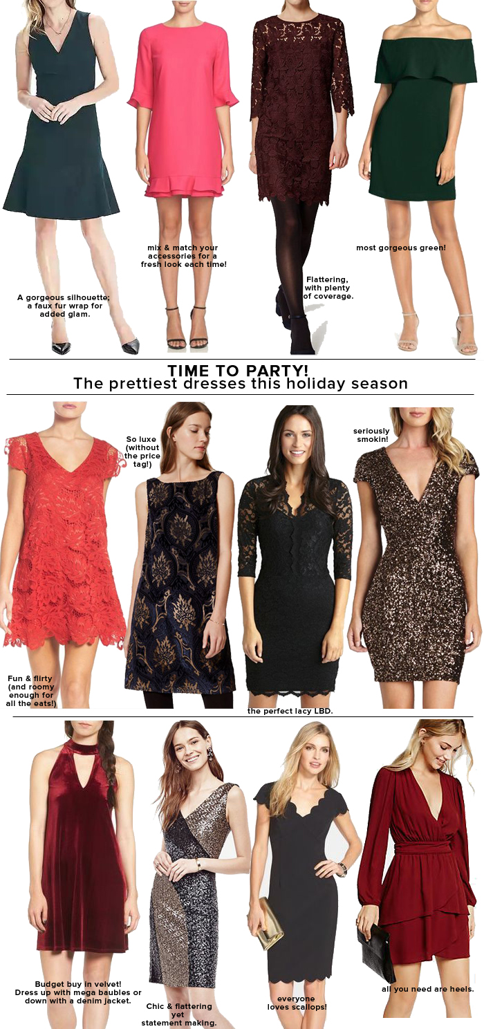 Prettiest Holiday Dresses Under $150