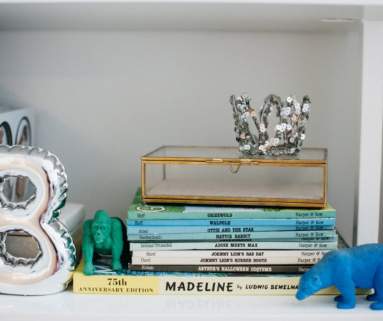 Bowie Layla's contemporary cool nursery