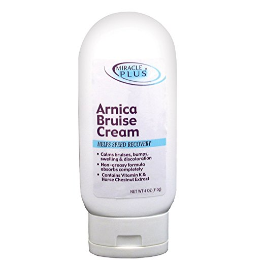 arnica cream to treat bruises