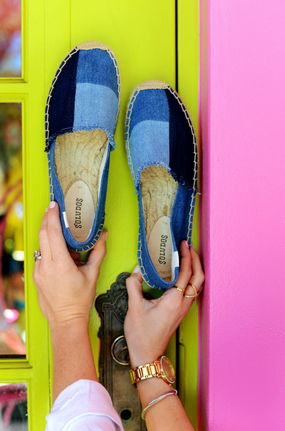 Denim espadrilles by soludos // the modern savvy