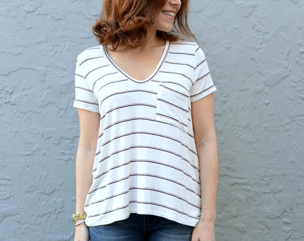 The Modern Savvy shares three tshirts you need in your closet now. Click thru to see the looks.