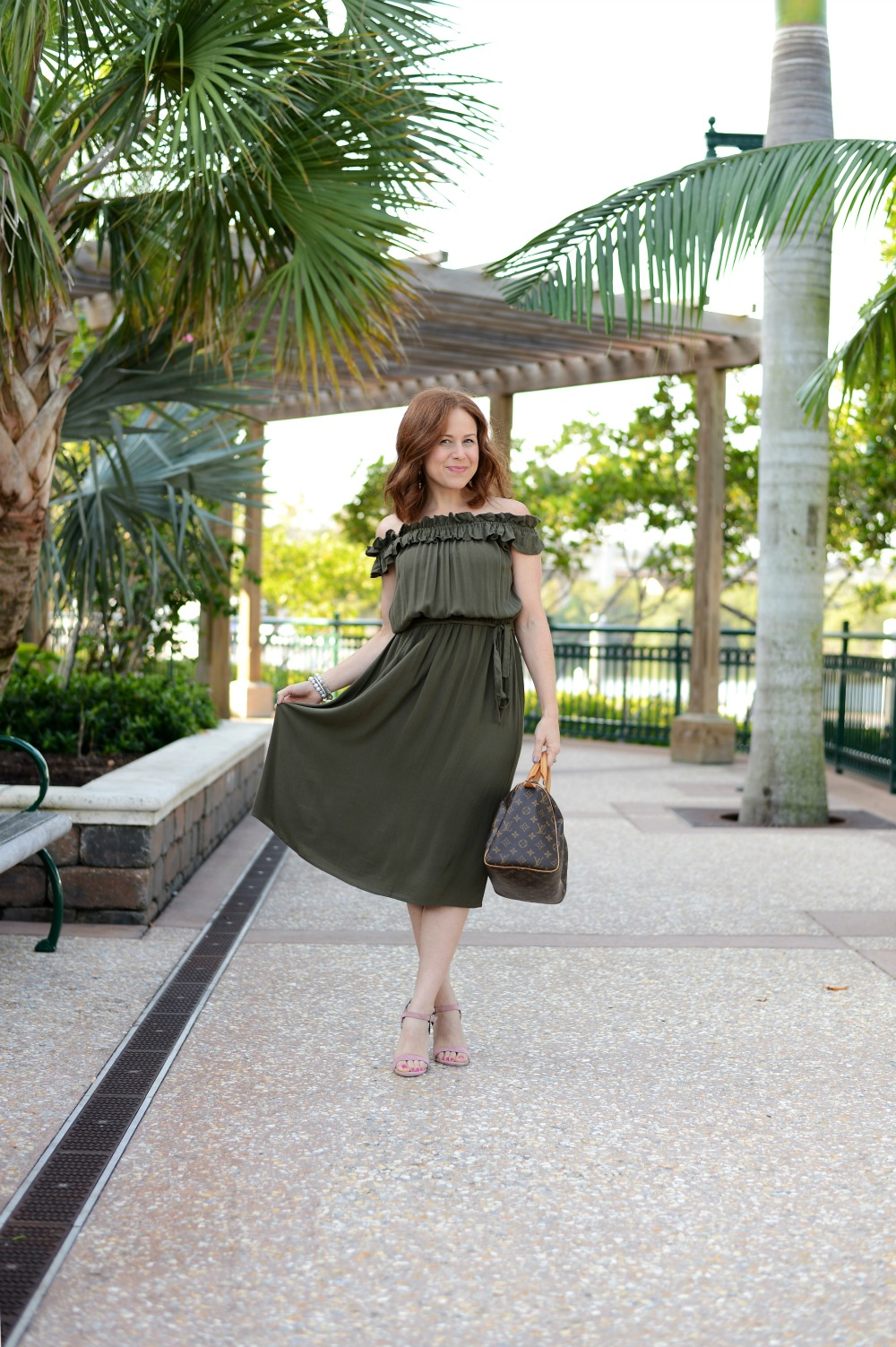 Midi Dress style on a petite girl (and why it's fun to embrace new styles! // the modern savvy