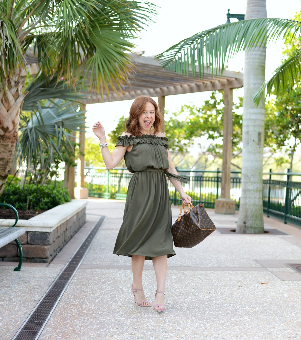 9ffa9e62a5 Midi Dress style on a petite girl (and why it s fun to embrace new styles