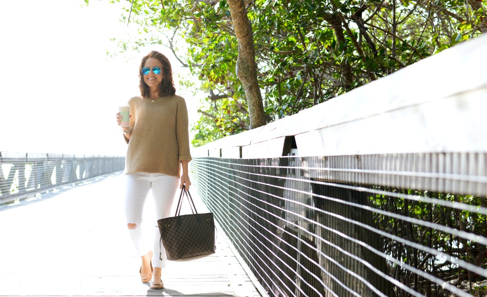 "An easy, stylish ""mom outfit"" for spring"