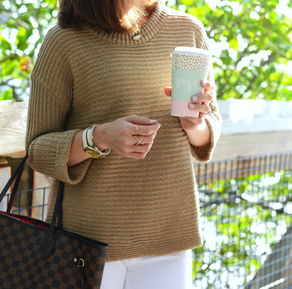 How to style a camel sweater for spring and summer // the modern savvy