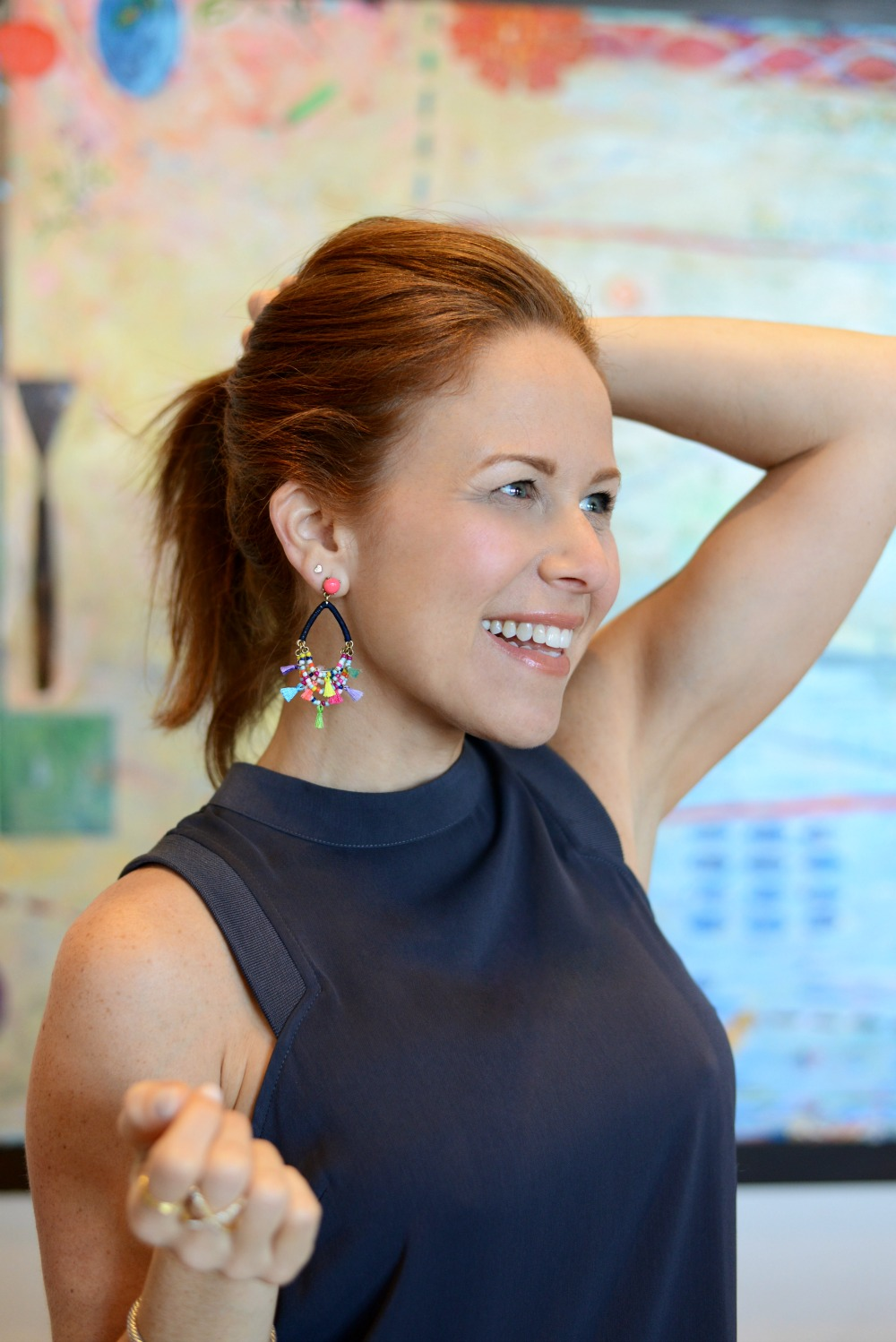 Fun summer earrings with tassels for under $40 // the modern savvy