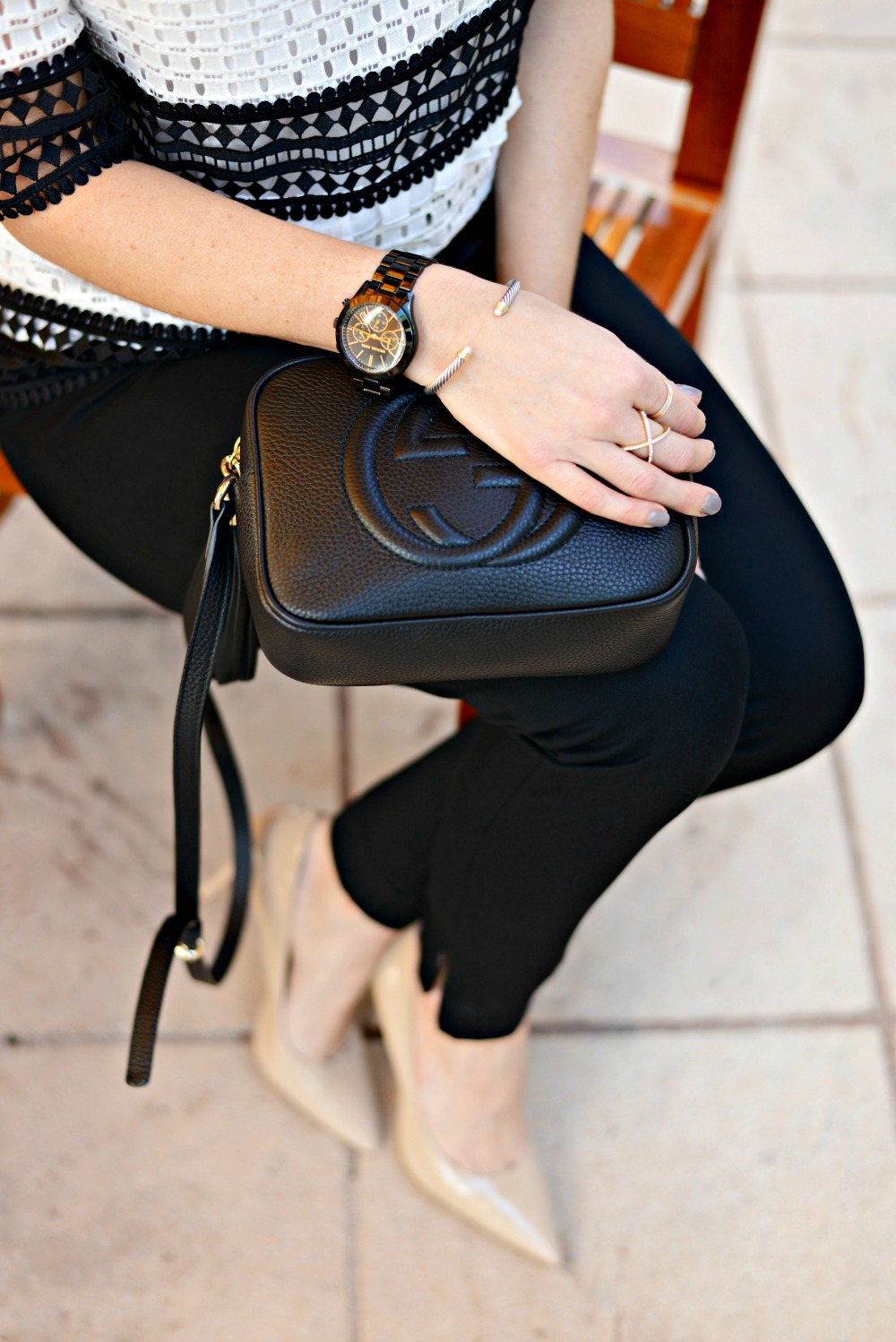 Gucci disco bag for work // the modern savvy