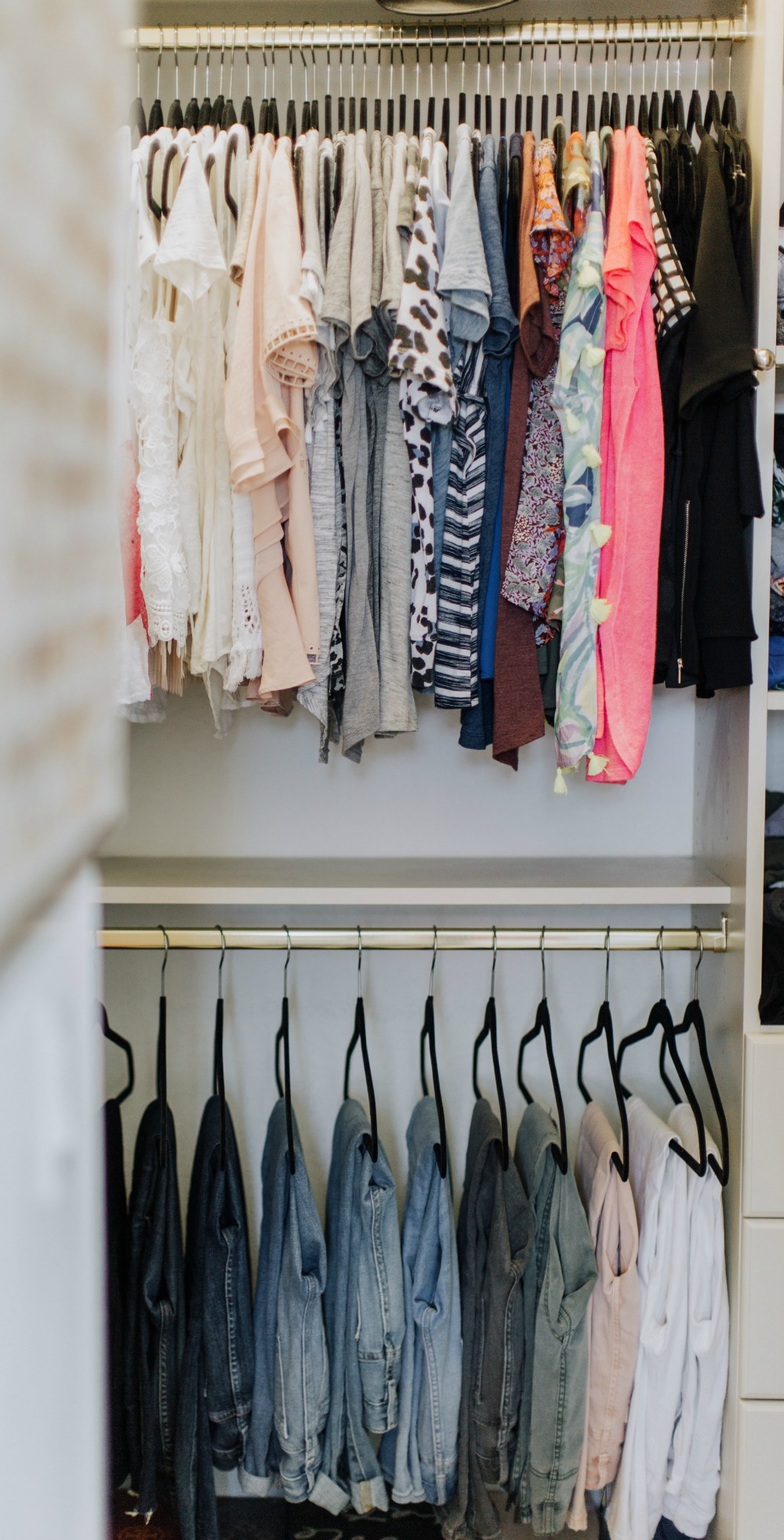 Closet Organization Tips featured by top US life and style blog The Modern Savvy