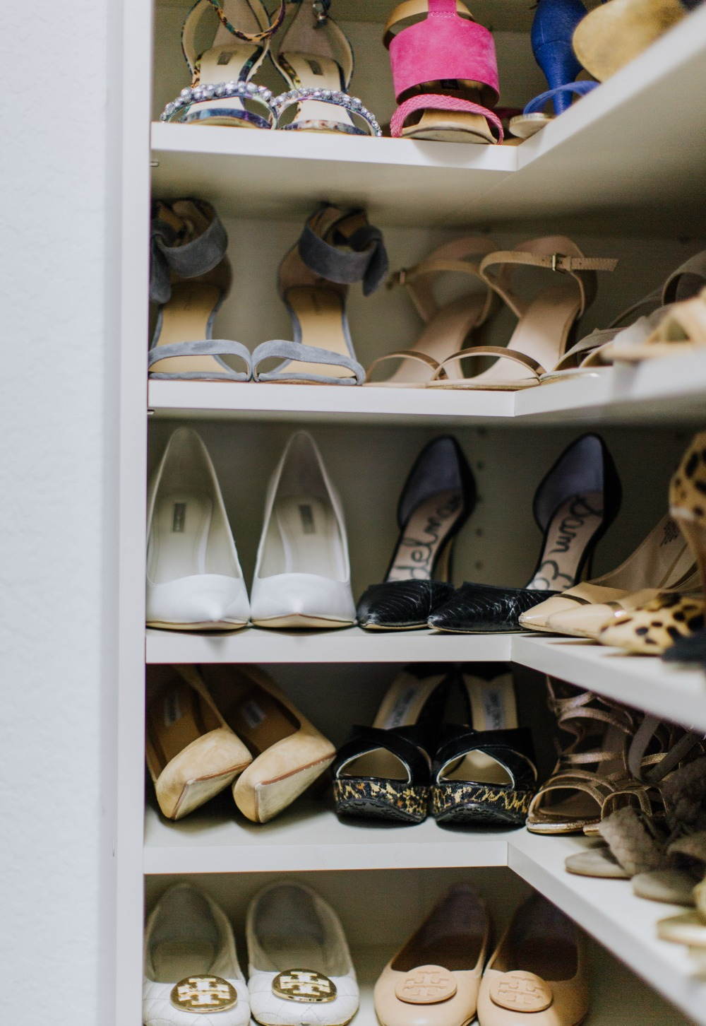 Shoe Closet & Tips how to CLoset Edit