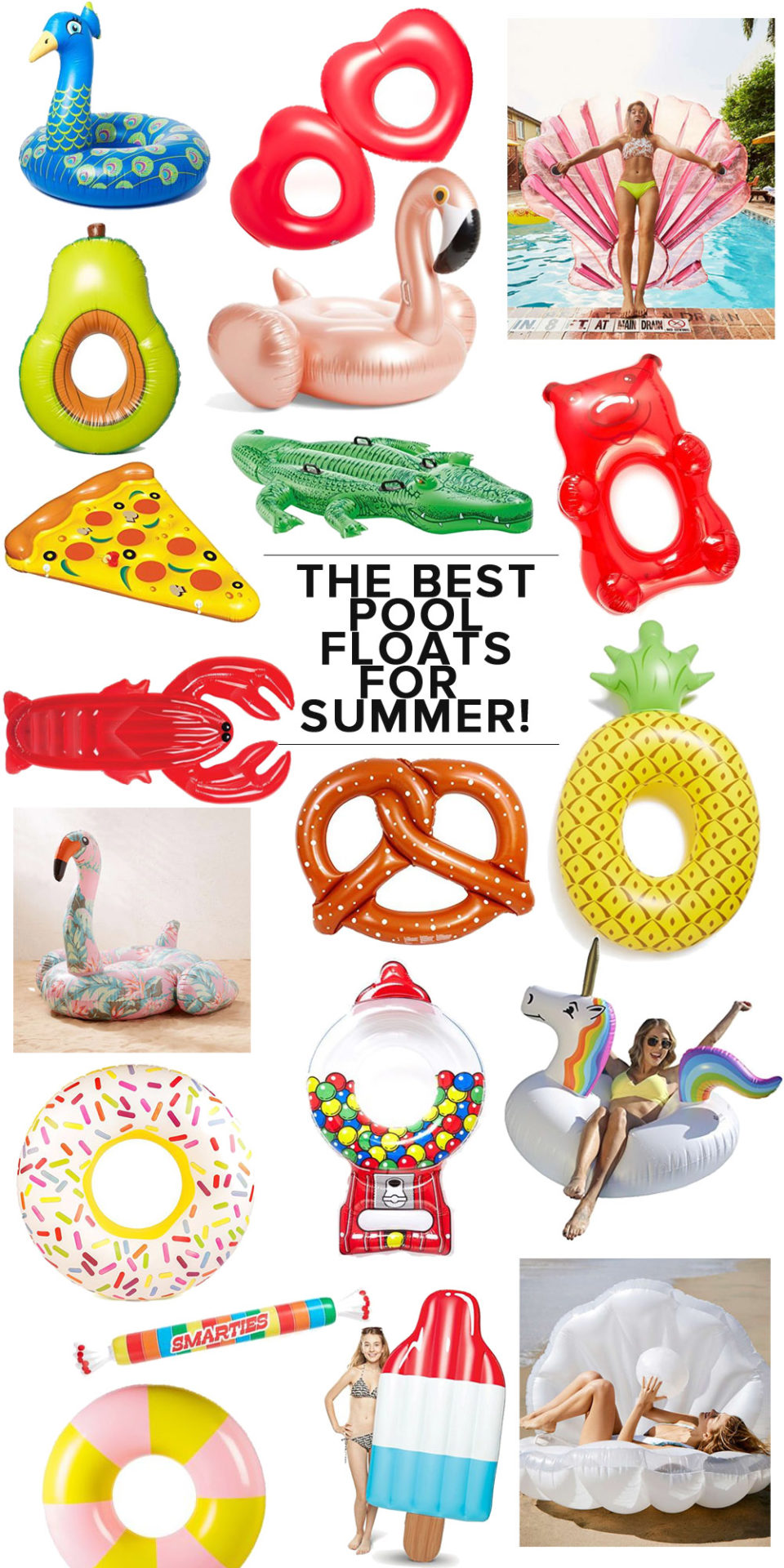 The Best Pool Floats for Summer (for Adults!) // the modern savvy