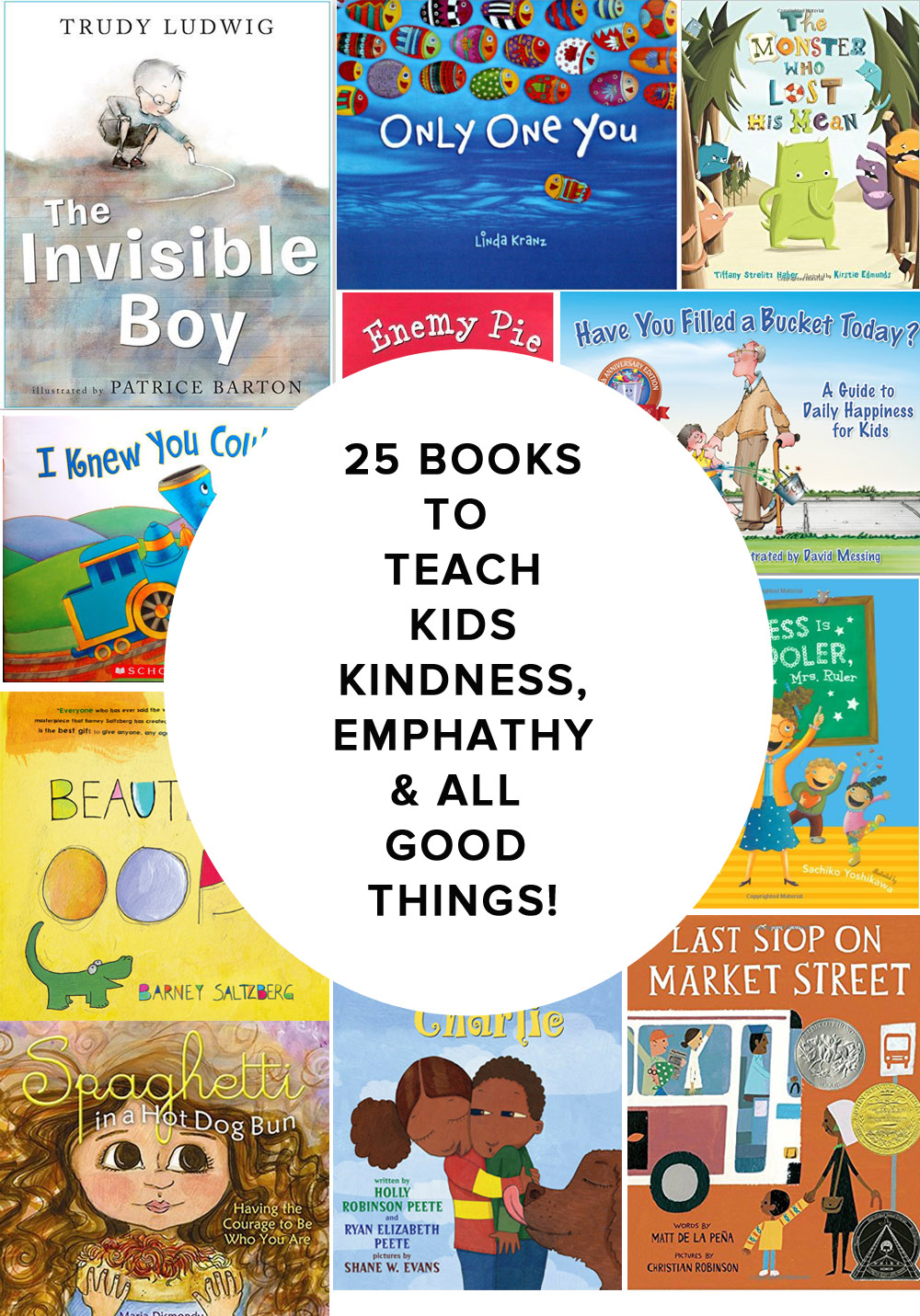 25 Books to Teach Kids Empathy, Kindness & all good things // The Modern Savvy