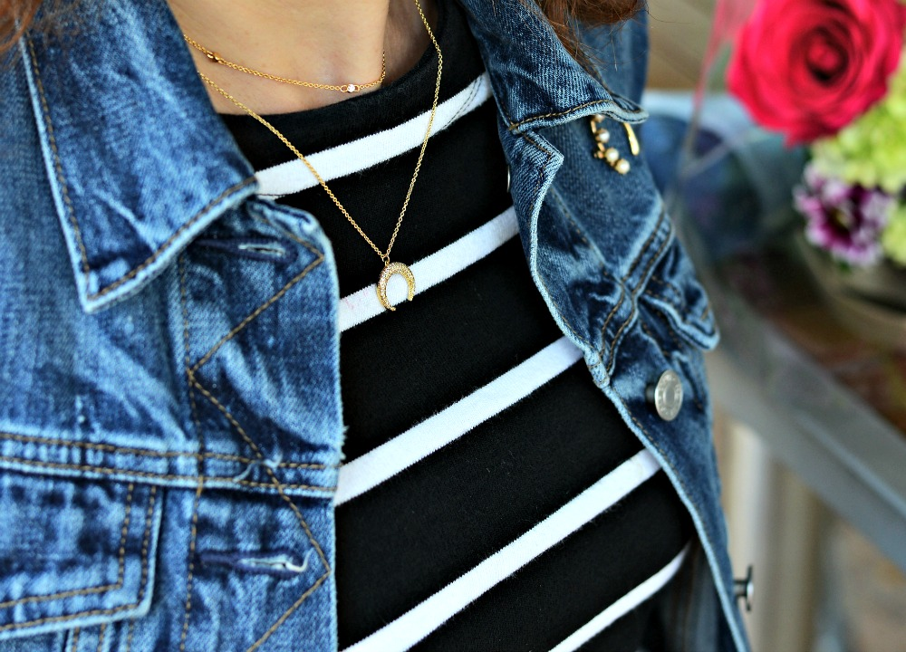 Delicate gold jewelry under $50