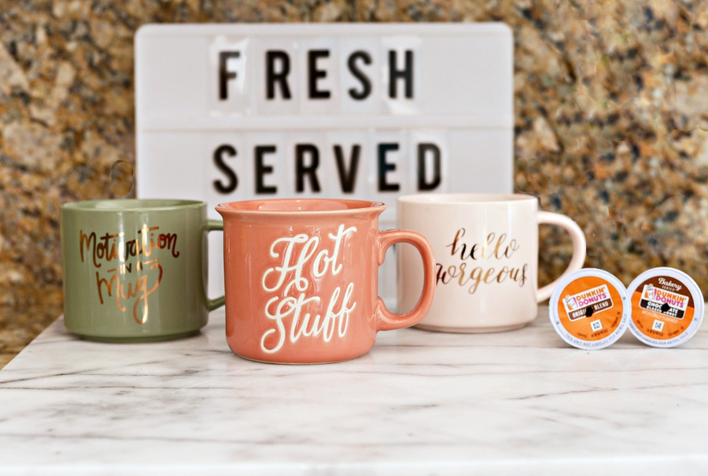 Fresh Served Daily! Creative ideas for your own coffee bar // the modern savvy