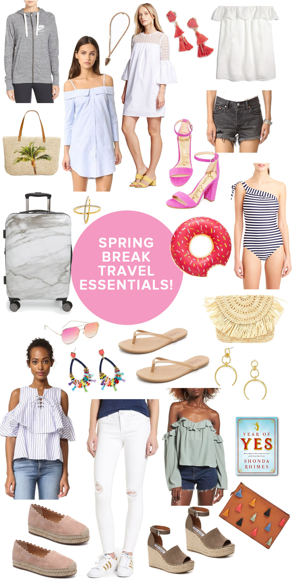 Spring Travel Essentials: What to Pack for a Weekend Getaway! // The Modern Savvy