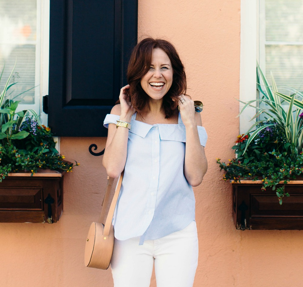 blue and white for summer // the modern savvy, a life & style blog