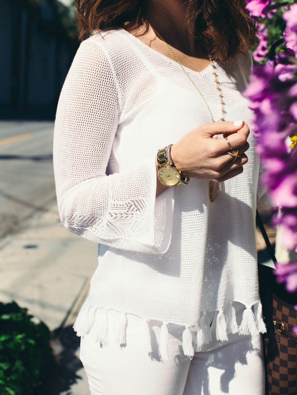 fringe sweater for summer // // the modern savvy, a life & style blog