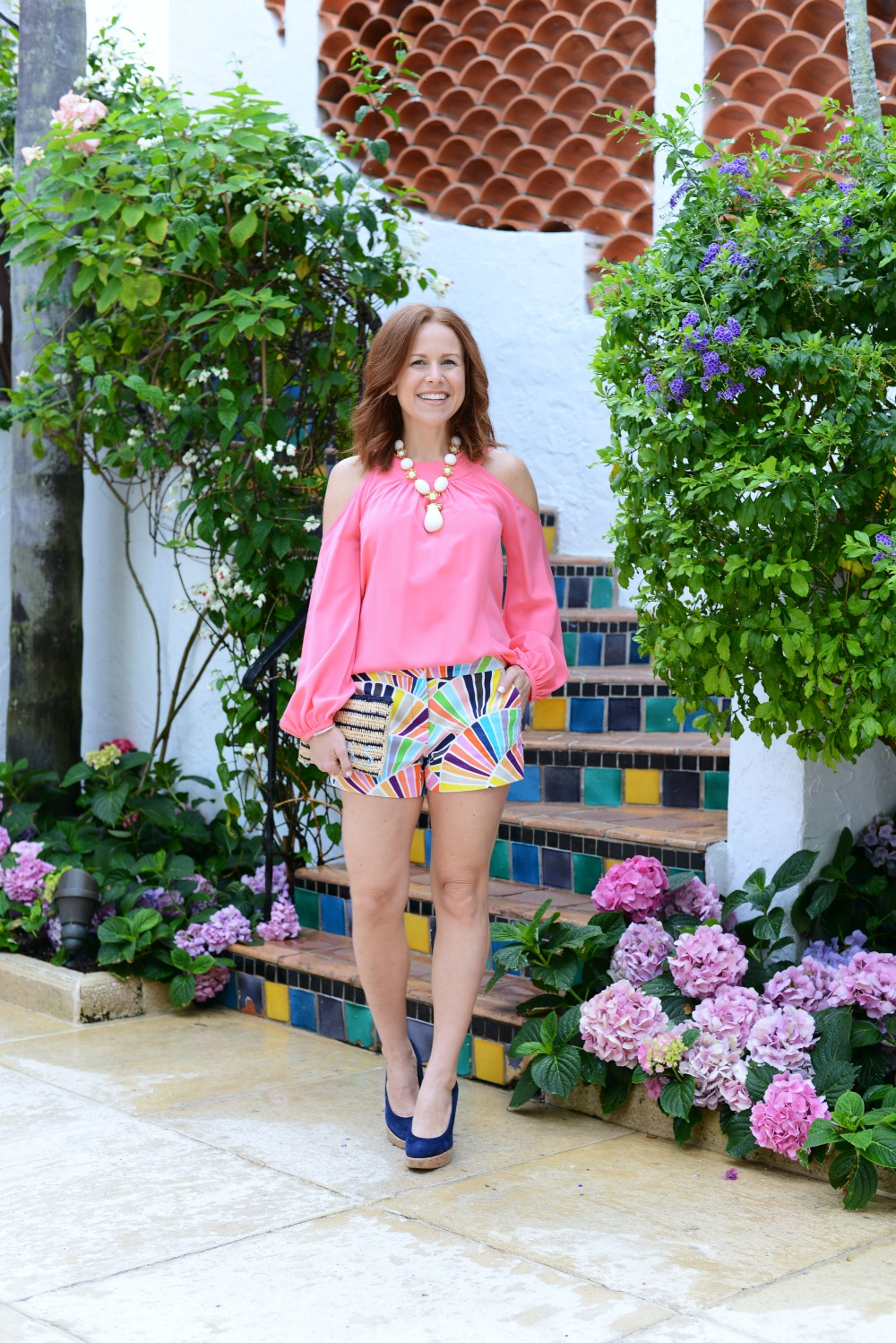 A fun way to wear shorts for date night, this time in Palm Beach // the modern savvy, a florida life + style blog