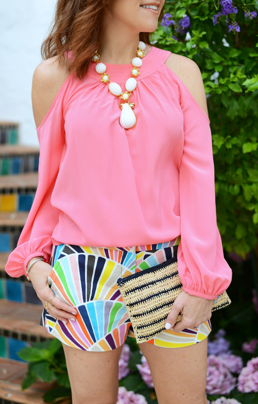 A fun way to style shorts for spring (on a real 30-something mom!) // the modern savvy, a life and style blog