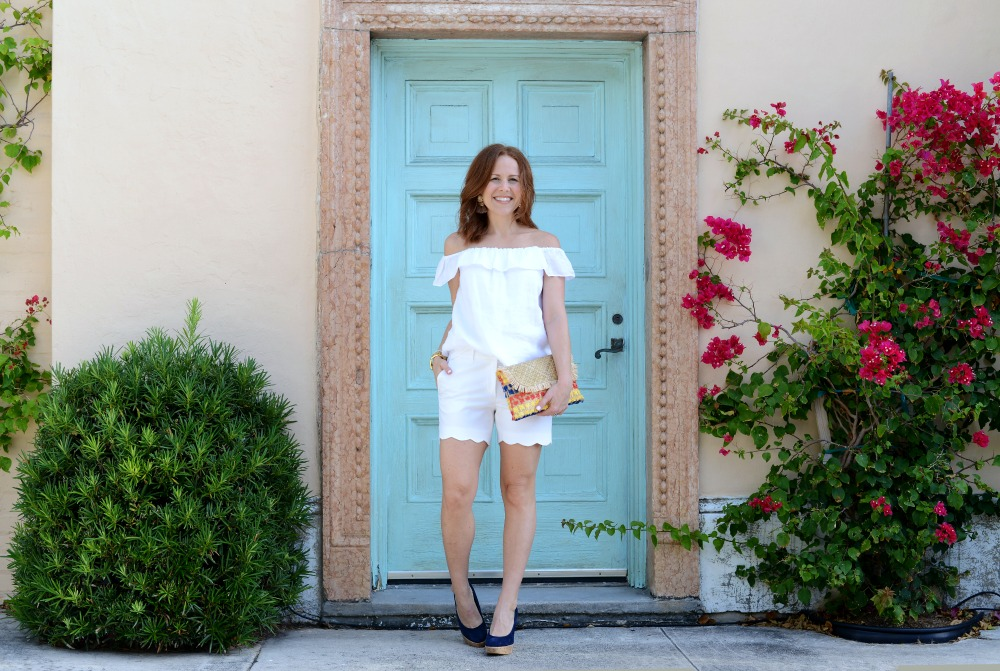 Two ways to wear an all-white outfit for day or night // the modern savvy, a life & style blog
