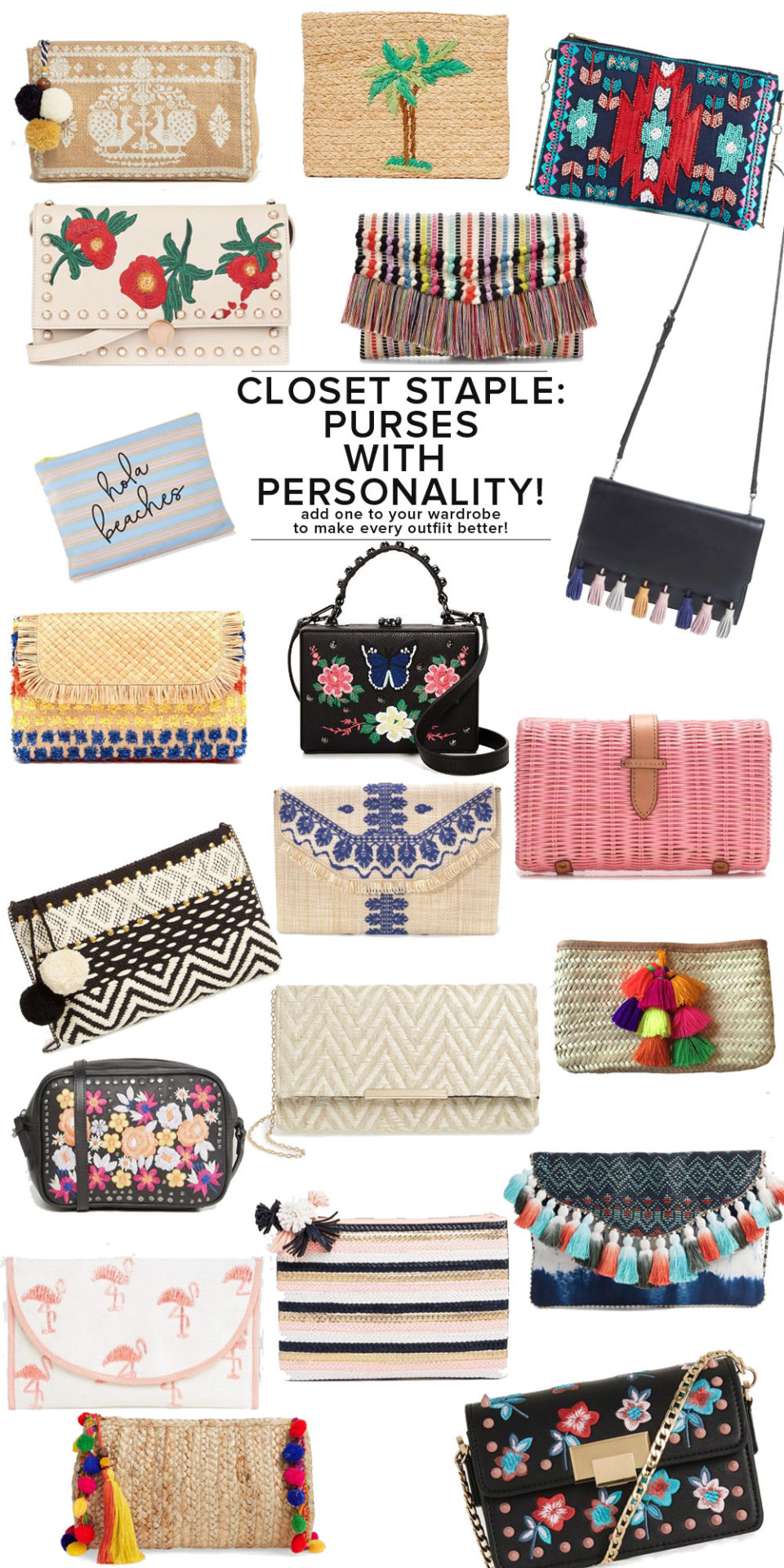 The cutest embellished, embroidered, details purses (and best of all, seriously wallet friendly!) // the modern savvy, a life + style blog