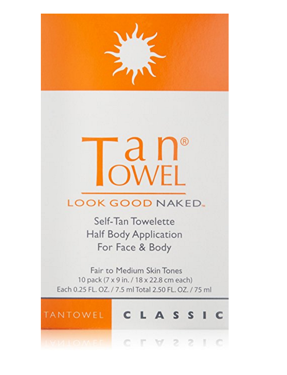 Tan Towels // the best way to get a quick tan!