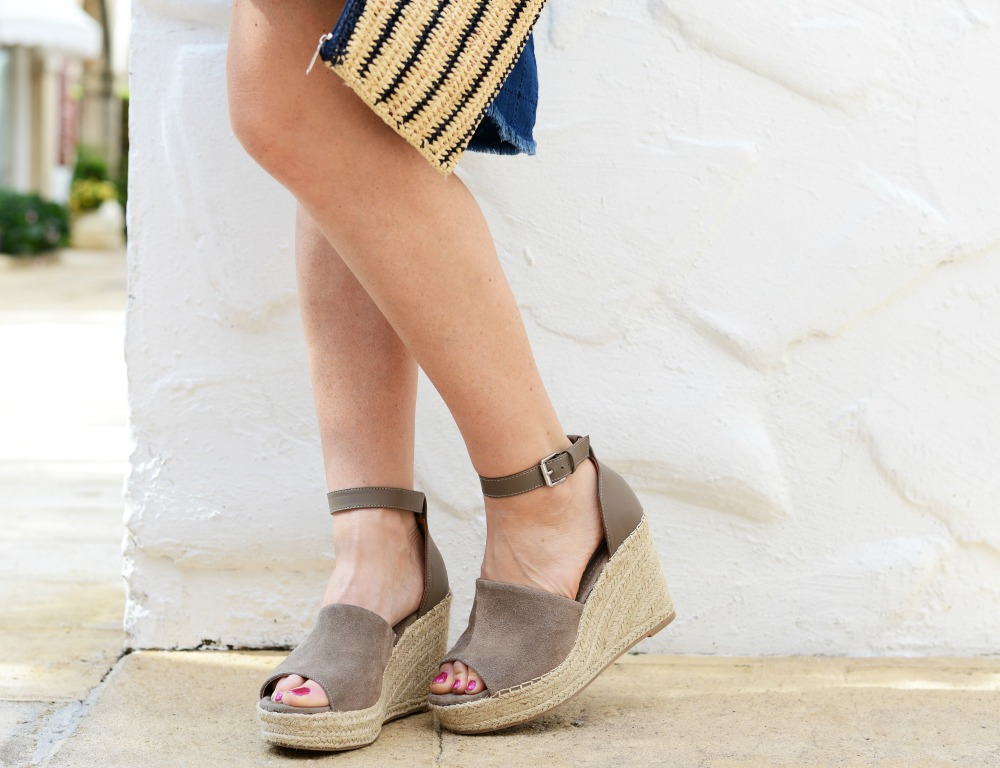 Summer's go-to wedge (at a fraction of the designer price )