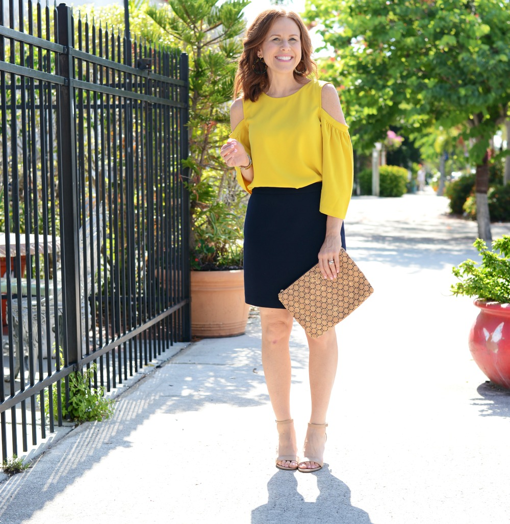 How to take your work look to happy hour // the modern savvy