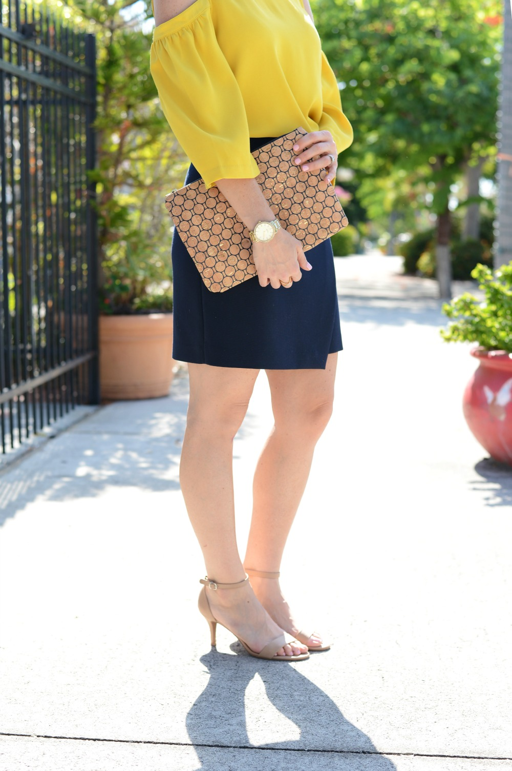 From work to happy hour -- how to make a few quick swaps to make your outfit work for both! // the modern savvy