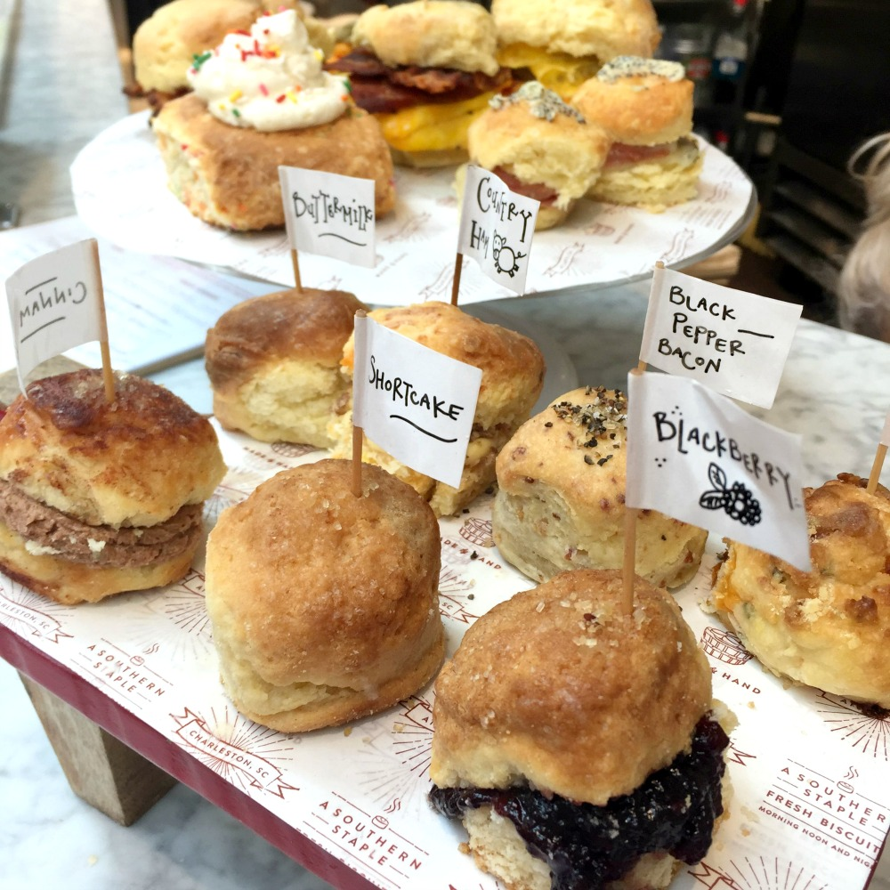 Girls Weekend Guide to Charleston (these biscuits from Callie's Hot Little Biscuits are a requirement!)