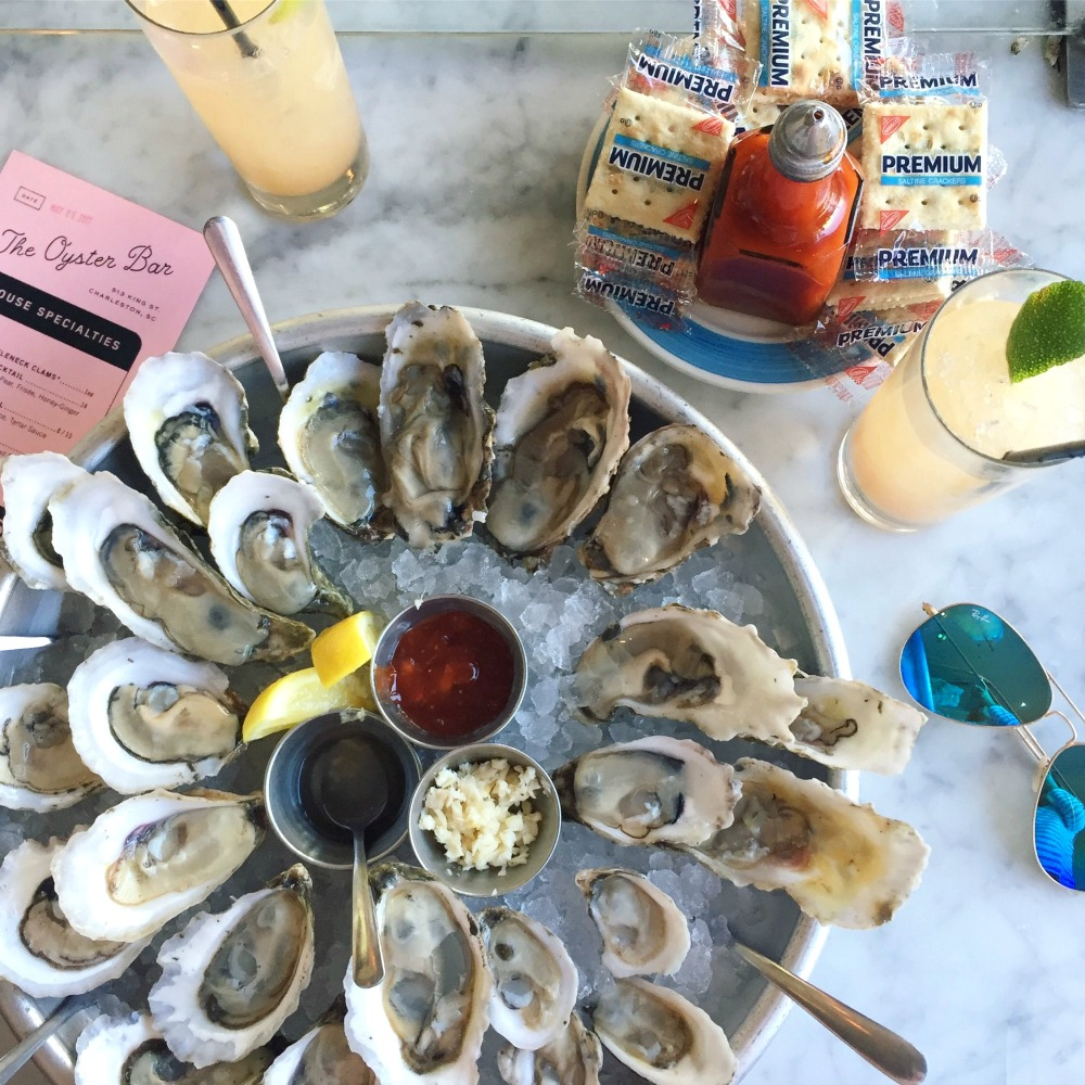 Oysters at The Darling (required) // Girls Weekend Guide to Charleston