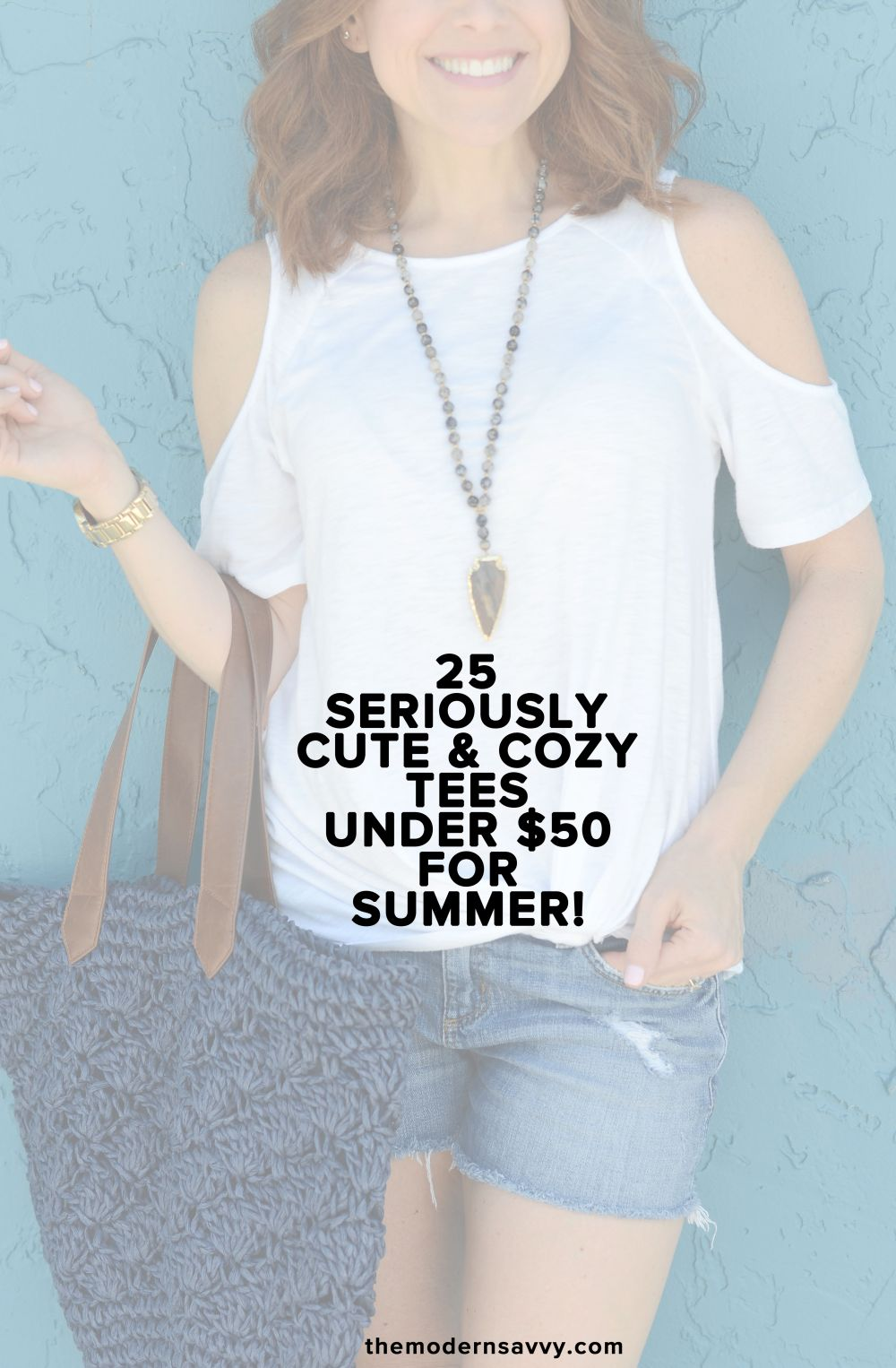 25 Seriously Cute and Cozy Tees for Summer // the modern savvy
