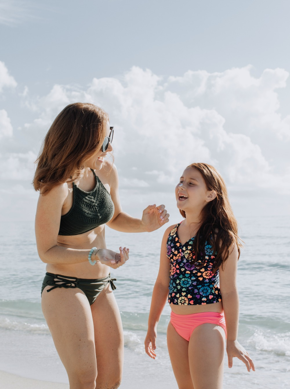 FUn ideas for a mother daughter beach day