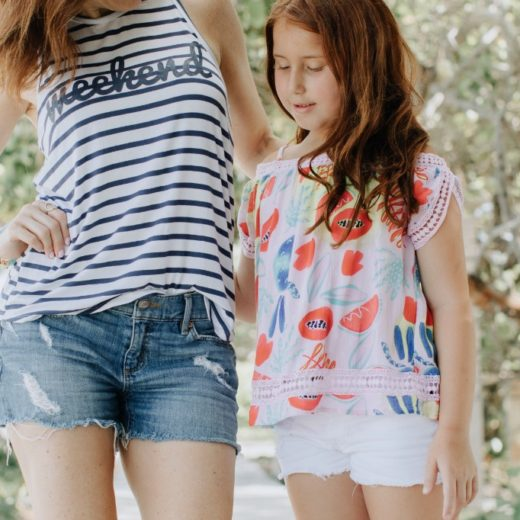 Dialogue between a daughter and mother about the modern trends in dressing