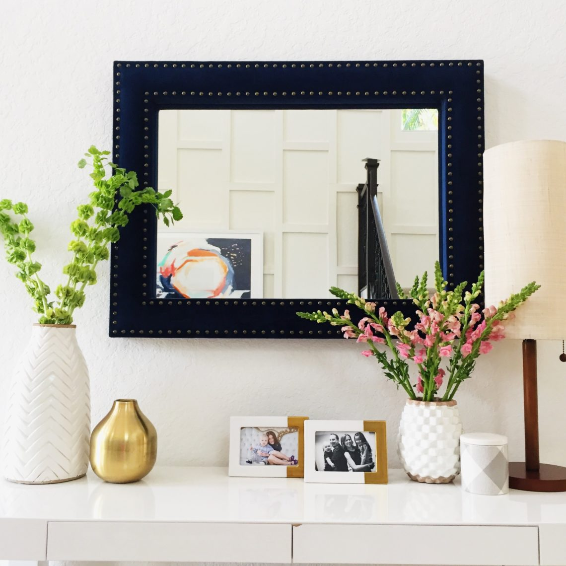 Entryway console table, home inspiration
