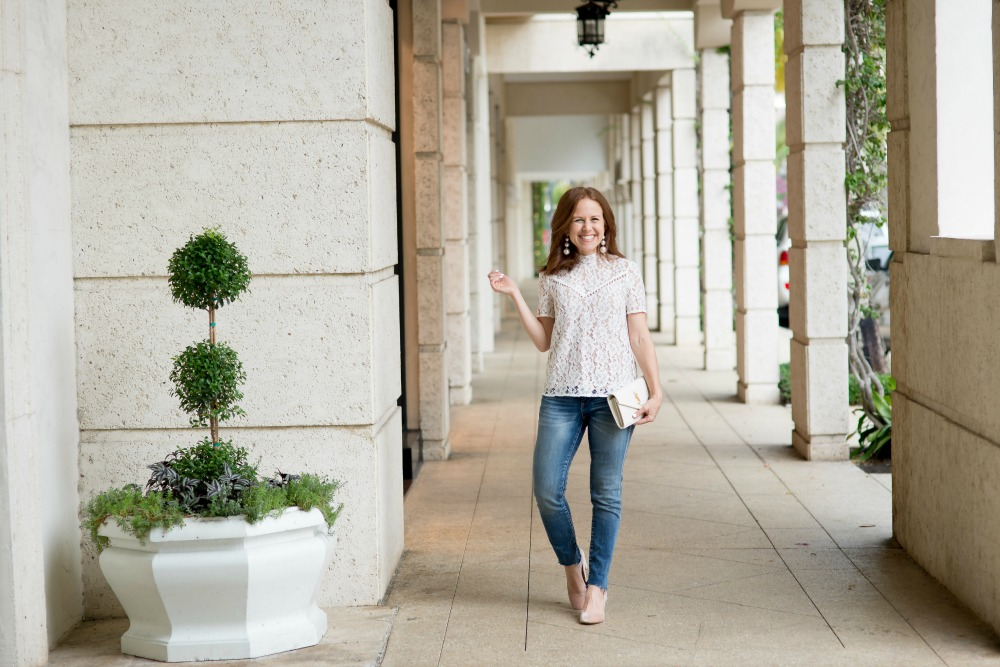 From work to weekend, a chic, effortless look // the modern savvy