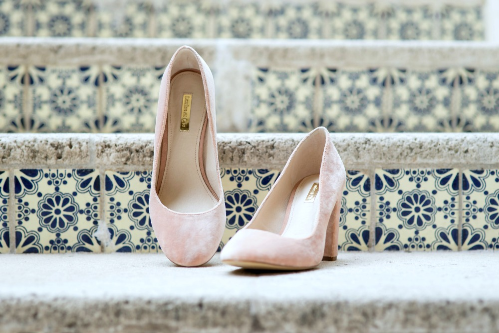 blush heels // the modern savvy